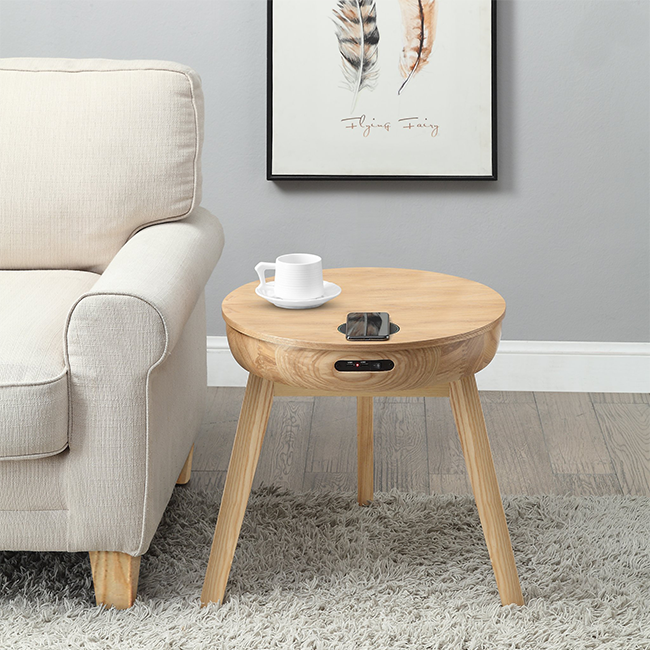 Lamp Table End Table Wooden Table